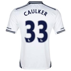 Camiseta nueva Tottenham Hotspur Caulker Primera 2013/2014