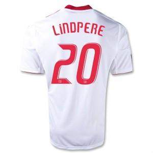 Camiseta nueva Red Bulls Lindpere Equipacion Primera 2013/2014