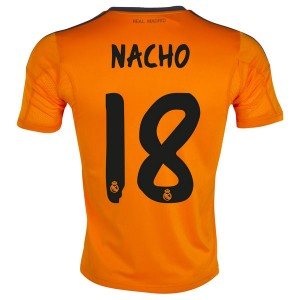 Camiseta nueva Real Madrid Nacho Equipacion Tercera 2013/2014