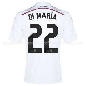 Camiseta Real Madrid Di Maria Primera Equipacion 2014/2015