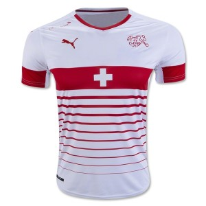 Camiseta del Suiza de la Seleccion Primera 2016