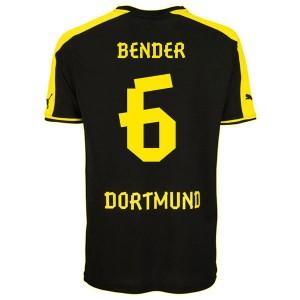Camiseta del Bender Borussia Dortmund Segunda 2013/2014