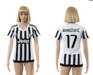 Camiseta Juventus 17 2015/2016 Mujer