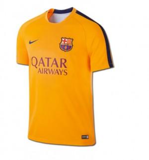Camiseta nueva FC Barcelona Equipacion Segunda 2015/2016