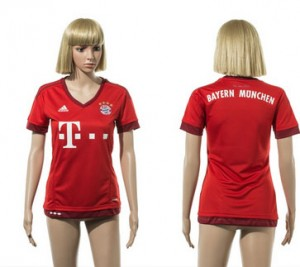 Camiseta nueva del Bayern Munich 2015/2016 Mujer