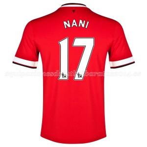 Camiseta nueva del Manchester United 2014/2015 Nani Primera