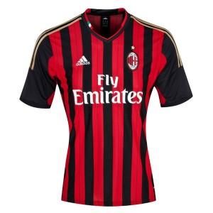 Camiseta nueva AC Milan Tailandia Primera 2013/2014