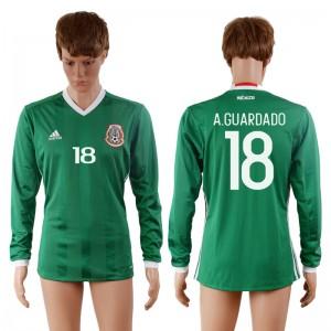 Camiseta nueva del Mexico 2016-2017 18#