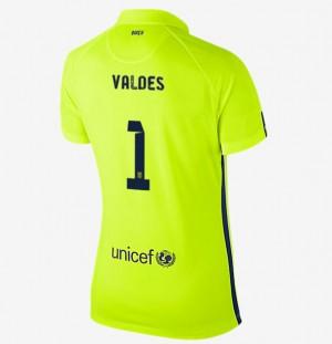 Camiseta Portero de Barcelona 2013/2014 2a
