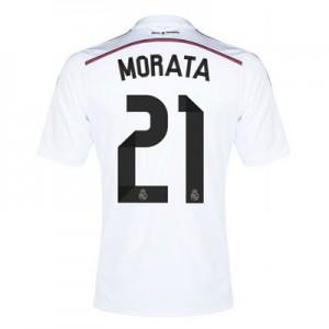 Camiseta nueva Real Madrid Morata Equipacion Primera 2014/2015