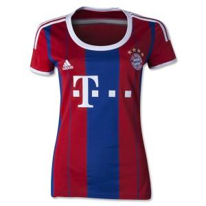 Camiseta Bayern Munich Segunda Equipacion 2014/2015 Mujer