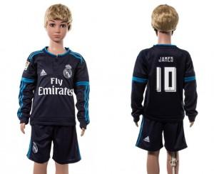 Camiseta de Real Madrid 2015/2016 10# Manga Larga Niños