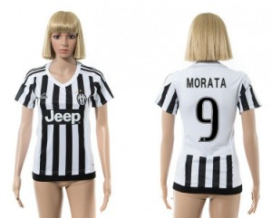 Camiseta Juventus 9 2015/2016 Mujer