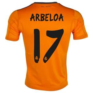 Camiseta del Arbeloa Real Madrid Tercera Equipacion 2013/2014