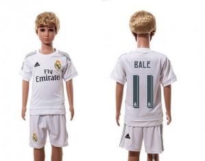 Camiseta de Real Madrid 2015/2016 Home 11 Niños