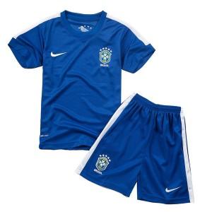Camiseta Brasil de la Seleccion Segunda 2013/2014 Nino