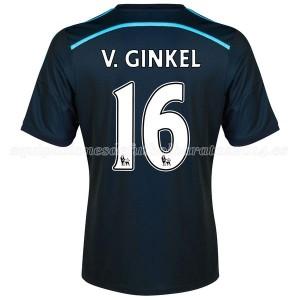 Camiseta Chelsea V Ginkel Tercera Equipacion 2014/2015