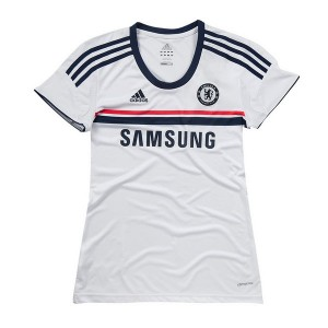 Camiseta de Chelsea 2013/2014 Segunda Equipacion Mujer