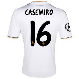 Camiseta Real Madrid Casemiro Primera Equipacion 2013/2014
