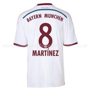 Camiseta Bayern Munich Martinez Segunda Equipacion 2014/2015