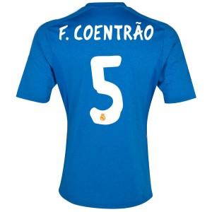 Camiseta Real Madrid F.Coentrao Segunda 2013/2014