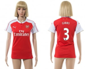 Mujer Camiseta del 3 Arsenal 2015/2016