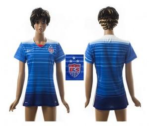 Camiseta nueva del Estados Unidos 2015/2016 Mujer