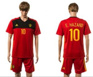 Camiseta del 10# Belgium 2015-2016