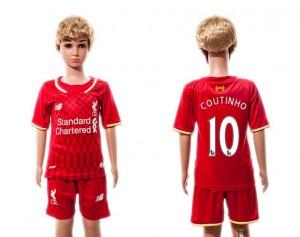 Camiseta Liverpool 10 2015/2016 Niños