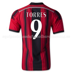 Camiseta de AC Milan 2014/2015 Primera Torres Equipacion