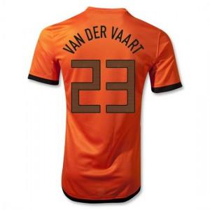 Camiseta nueva del Holanda 2012/2014 Van Der Vaart Primera