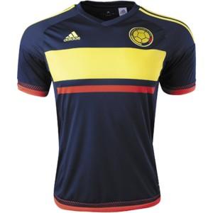 Camiseta nueva del Colombia 2016 Away