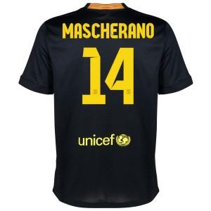 Camiseta Barcelona Mascherano Tercera Equipacion 2013/2014