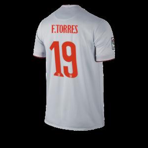 Camiseta del TORRES Atletico Madrid Segunda Equipacion 2014/2015