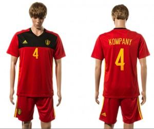 Camiseta nueva Belgium 4# 2015-2016