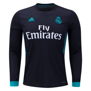 Camiseta de Real Madrid 2017/2018 Away Long Sleeve