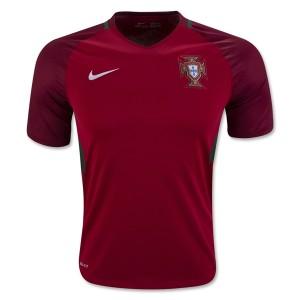 Camiseta de Portugal 2016 Primera Equipacion