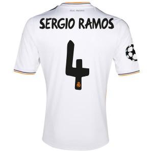 Camiseta de Real Madrid 2013/2014 Primera Sergio Ramos