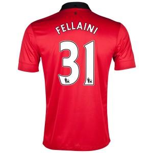 Camiseta nueva Manchester United Fellaini Primera 2013/2014