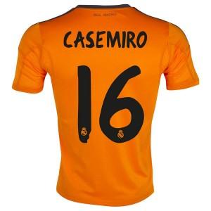 Camiseta Real Madrid Casemiro Tercera Equipacion 2013/2014