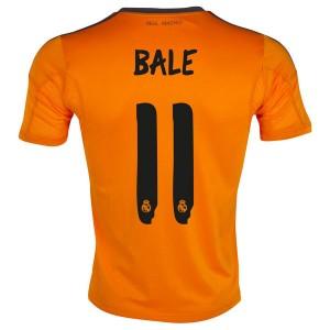 Camiseta de Real Madrid 2013/2014 Tercera Bale Equipacion