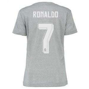 Mujer Camiseta del RONALDO Real Madrid Segunda Equipacion 2015/2016