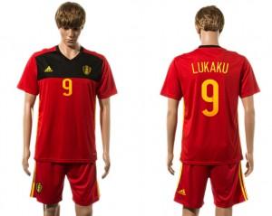 Camiseta de Belgium 2015-2016 9#