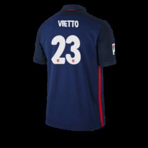 Camiseta Atletico Madrid VIETTO Segunda Equipacion 2015/2016