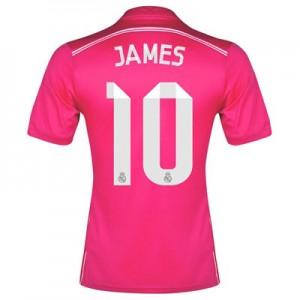 Camiseta nueva del Real Madrid 2014/2015 Equipacion James Segunda