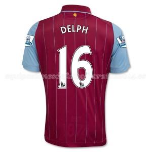 Camiseta nueva Aston Villa Delph Equipacion Primera 2014/15