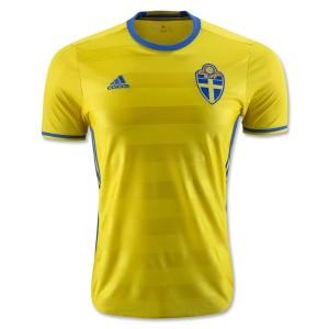 Camiseta nueva del Suecia 2016/2017