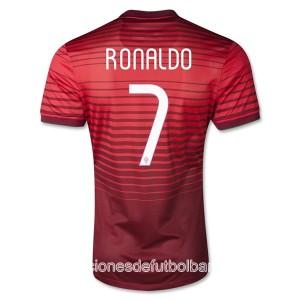 Camiseta de Portugal de la Seleccion 2013/2014 Primera Ronaldo