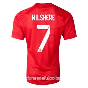 Camiseta nueva del Inglaterra de la Seleccion WC2014 Wilshere Segunda