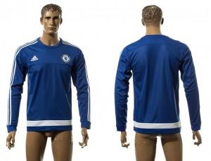 Training Top Chelsea Azul LS Long Sleeve
